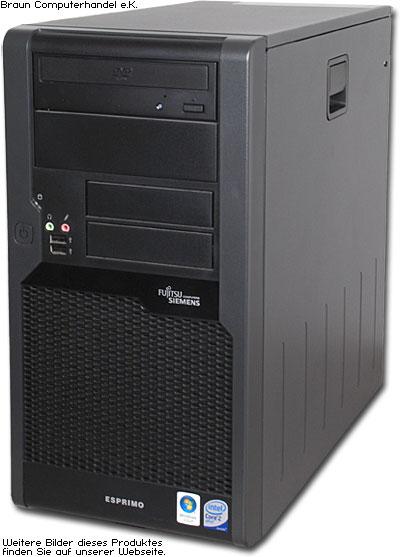 Die Fujitsu Siemens Esprimo P7935 sind sehr gut verarbeitete und ...